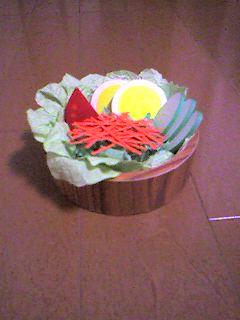 紙のサラダ