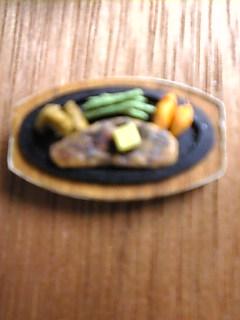 紙のステーキ